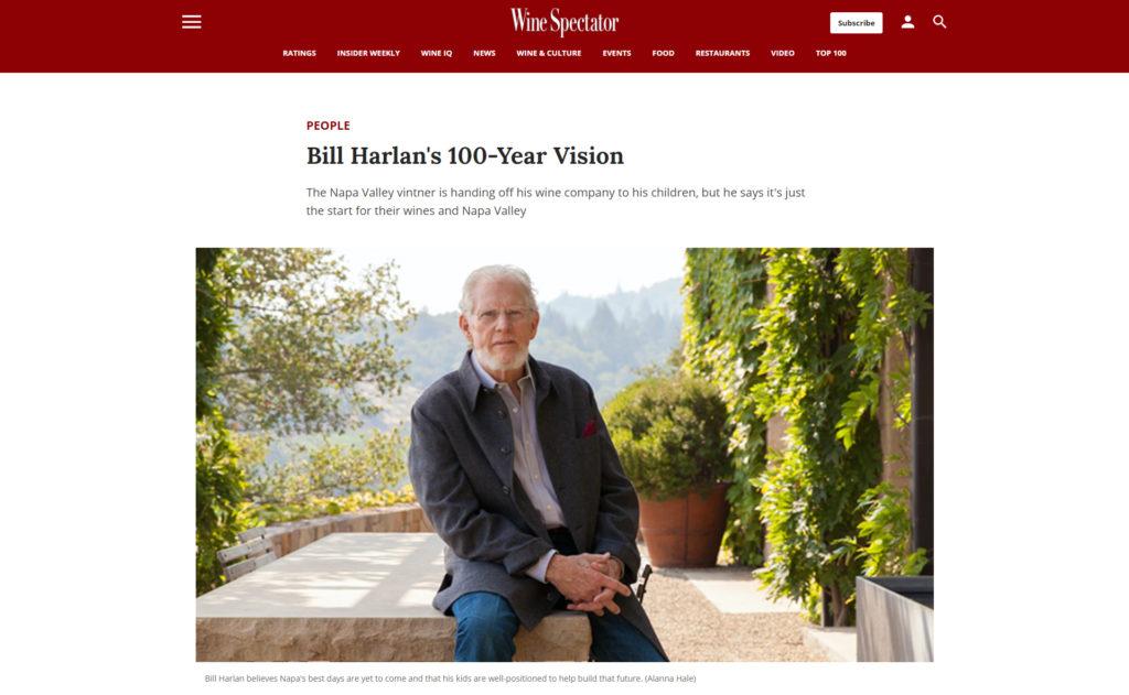 ビル・ハーラン 100年ヴィジョン